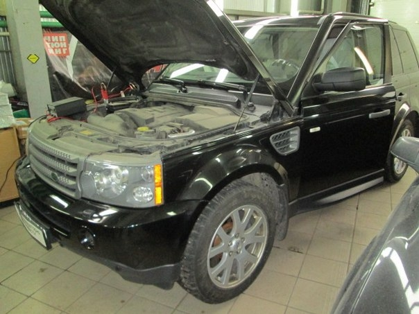 Отключение клапана EGR на Land Rover Range Rover Sport 2 7d