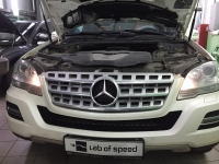 Mercedes-Benz M-Class W164 ML 3.5 CDi 224Hp 2011 года выпуска