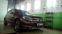 Чиптюнинг Mercedes Benz GLK220 2.2CDI 170hp 2014