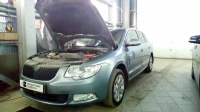 Skoda Superb 2gen 1.8 TSI AT (152 л. с.) 2010