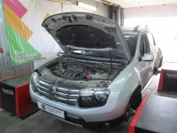 Чип-тюнинг Renault Duster 2.0i 112hp