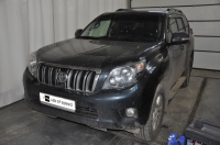 Чип тюнинг Toyota Land Cruiser Prado 3.0d 173hp