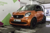 Smart Fortwo 3gen 2016my 0.9 T AMT (90 л.с.)